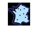 points de recharges en France