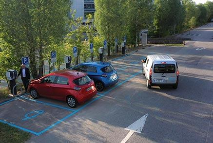 station parking de recharge