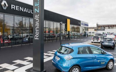 Mise en place d'un service de charge pour les clients de 80 concessions automobiles