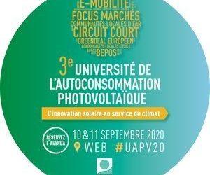Elexent à l'Université de l'autoconsommation photovoltaïque